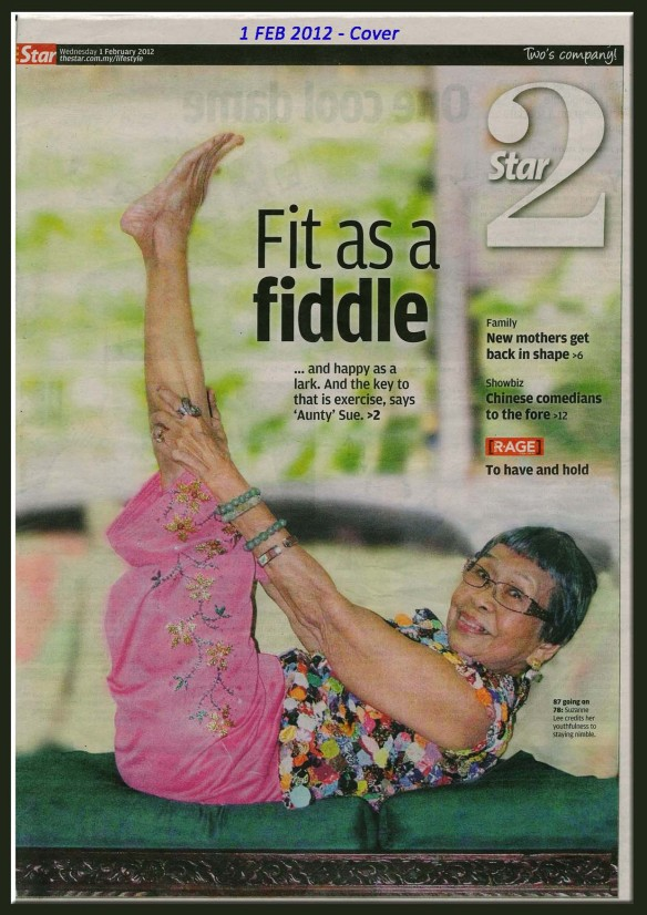 Cover page of Fit As A Fiddle