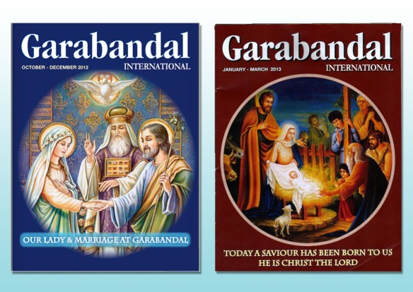 Oct - Dec 2012 & Jan-Mar 2013 Garabandal Magazines