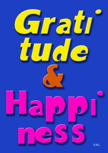 Gratitude & Happiness