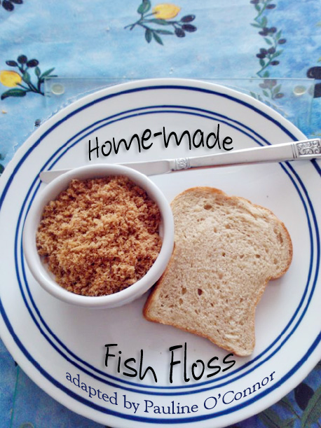 Fish Floss with bread