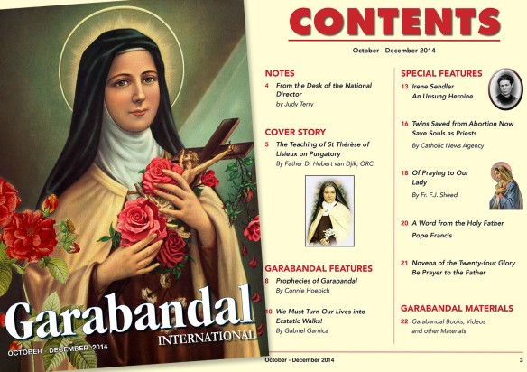 Garabandal Int Mag OCT - DEC 2014