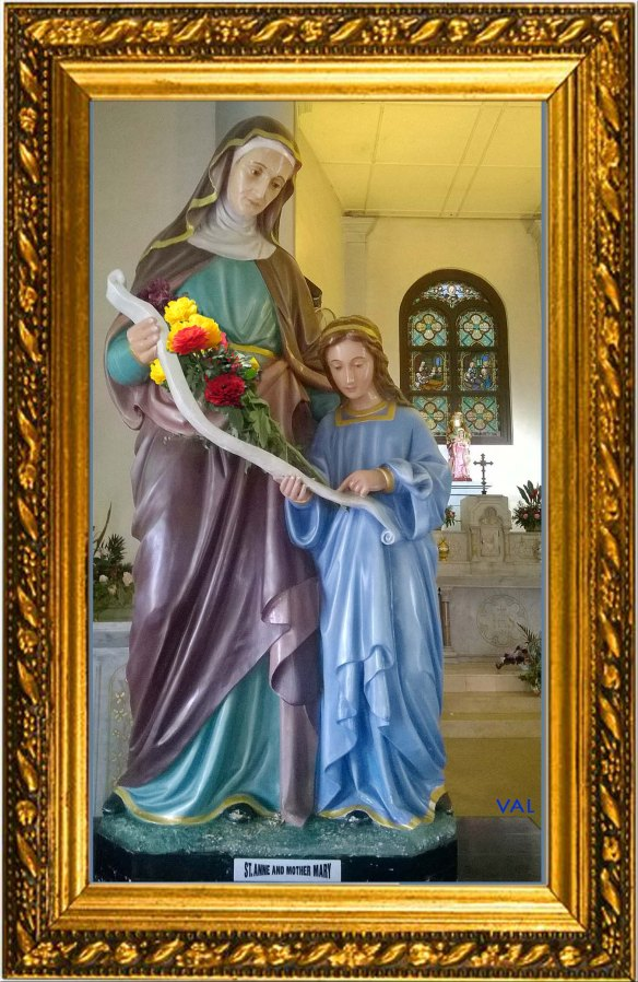 St Anne and Mary